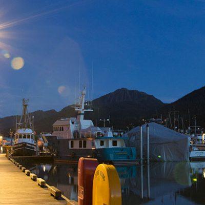 Aurora Harbor power distribution and lighting